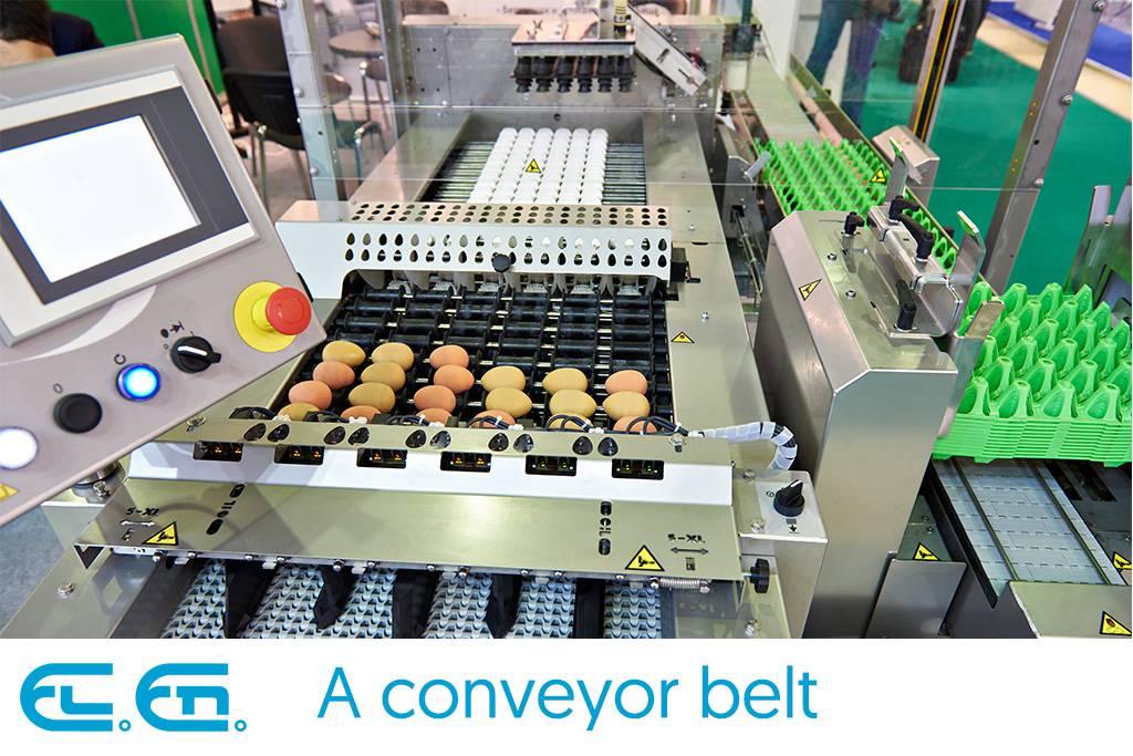 A conveyor belt