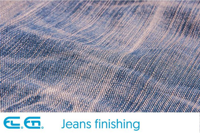 CO2 galvo laser marking and engraving on jeans and denim cloth | El