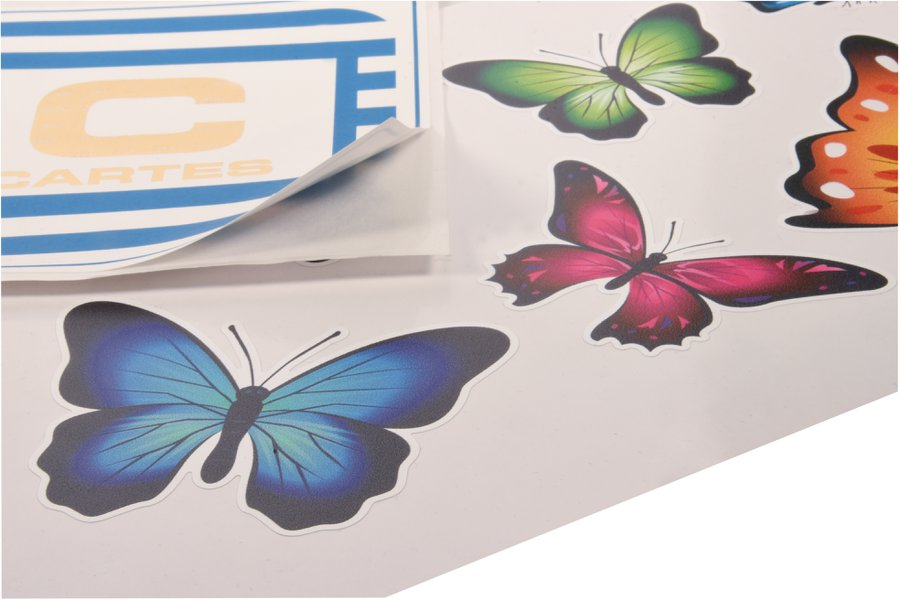 Laser kiss cutting is a powerful tool for the manufacturing of sticky labels