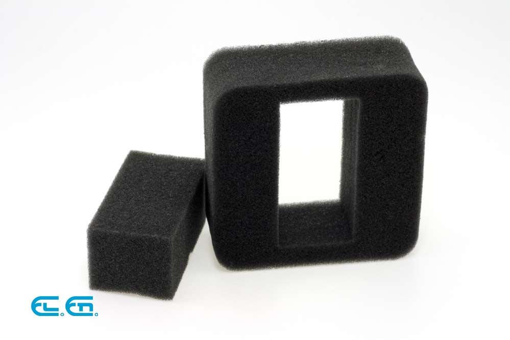 Laser cutting polyethylene foam | El En CO2 Laser