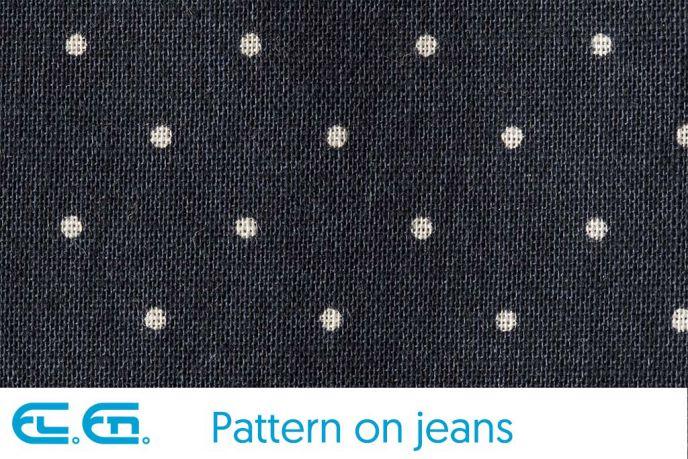 Un esempio di pattern su jeans